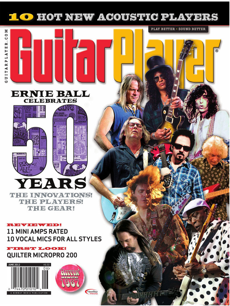 GuitarPlayer - June - 2012 Ernie Ball