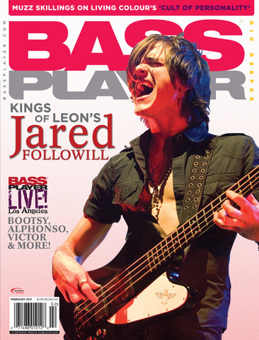 BassPlayer - Feb - 2011 Jared Followill - NewBay Media Online Store