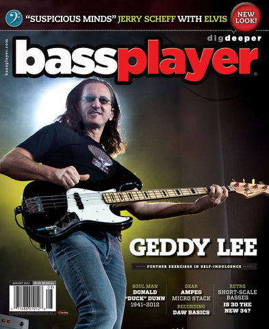 BassPlayer - August - 2012 Geddy Lee - NewBay Media Online Store