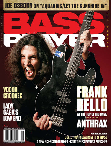 BassPlayer Nov - 2011 Frank Bello - NewBay Media Online Store
