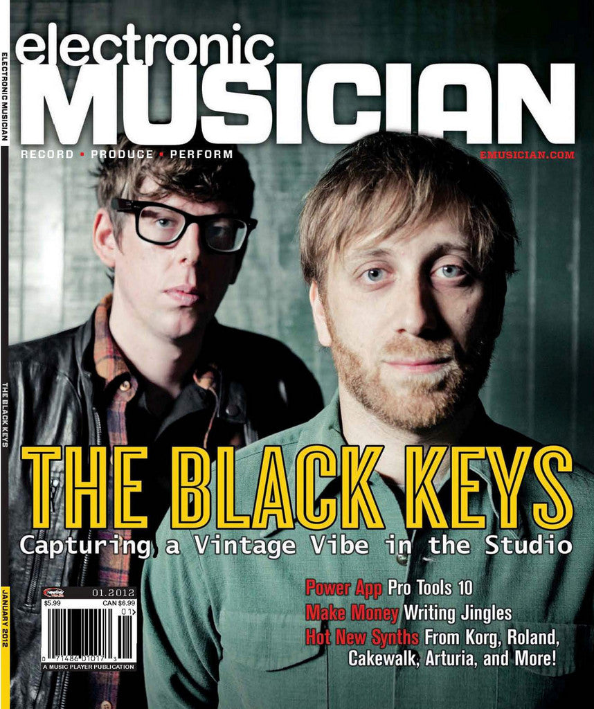 electronicMUSICIAN Jan - 2012 The Black Keys