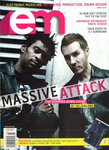electronicMUSICIAN - March - 2010 Massive Attack - NewBay Media Online Store