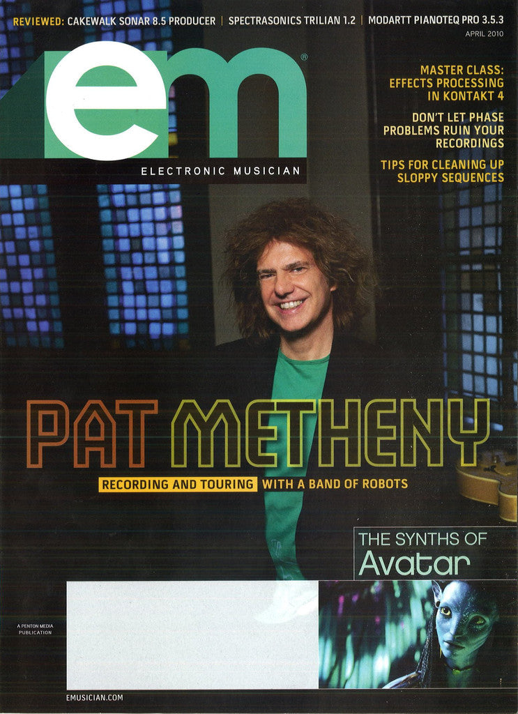 electronicMUSICIAN - April - 2010 Pat Metheny - NewBay Media Online Store