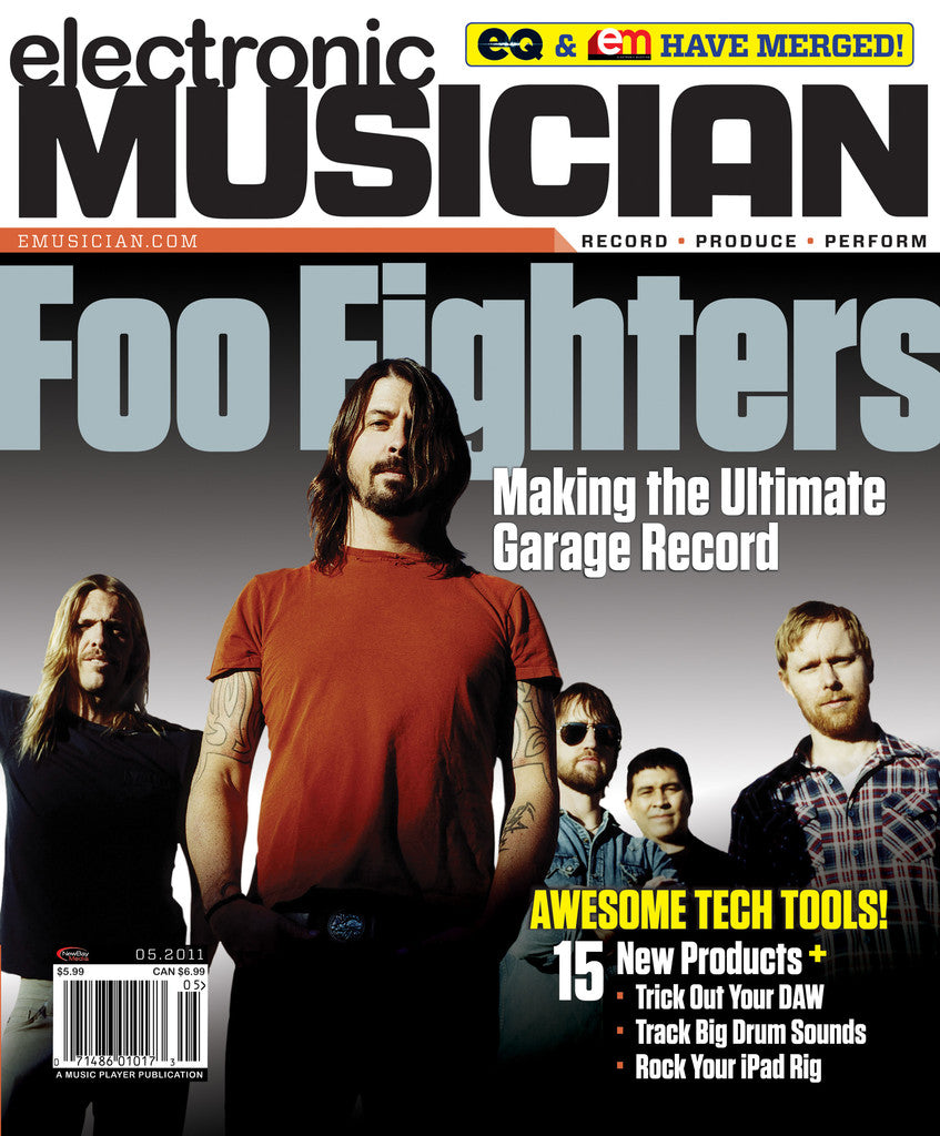 electronicMUSICIAN - May - 2011 Foo Fighters - NewBay Media Online Store