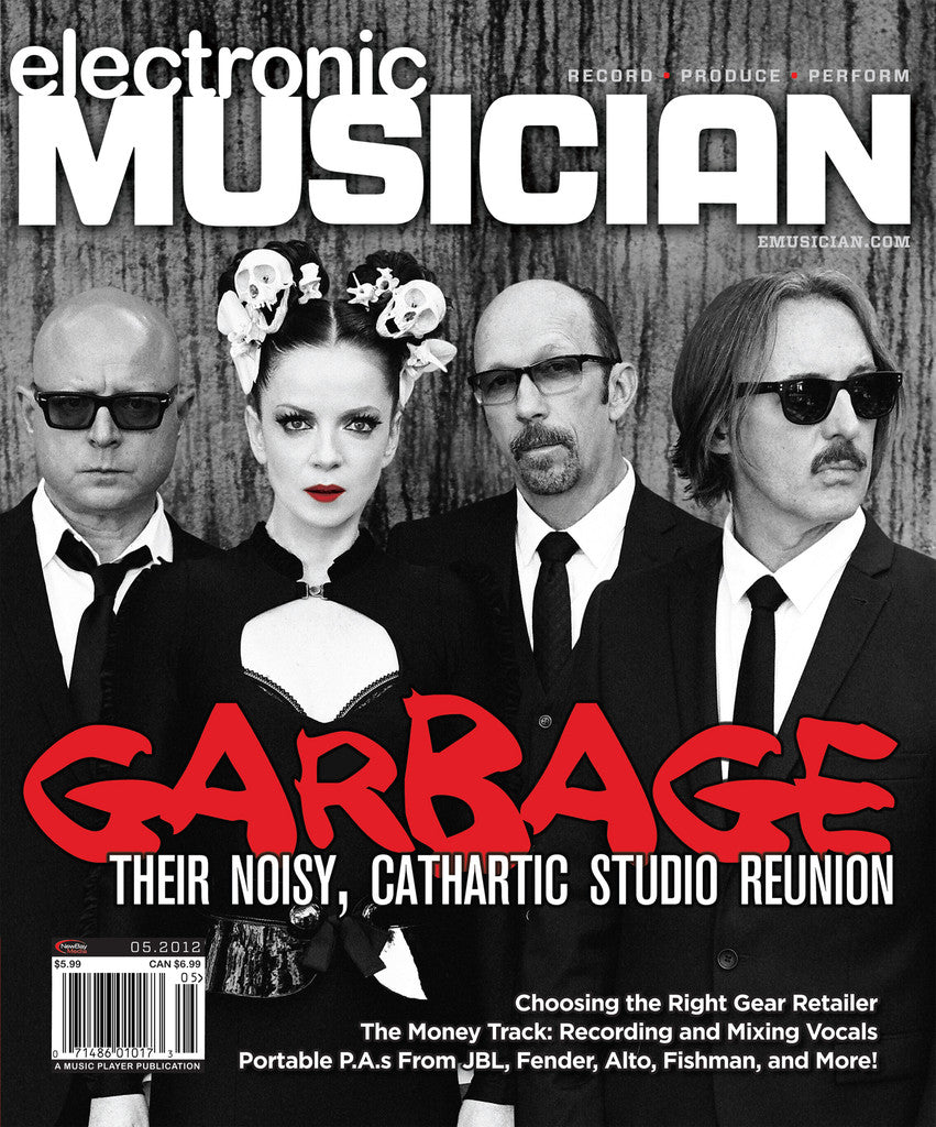 electronicMUSICIAN May - 2012 -  Garbage