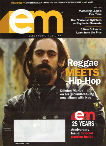 electronicMUSICIAN - June - 2010 Reggae Meets HipHop - NewBay Media Online Store