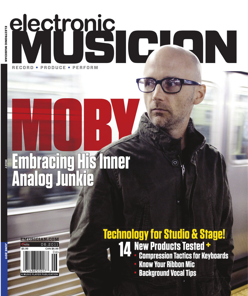 electronicMUSICIAN - June - 2011 Moby - NewBay Media Online Store