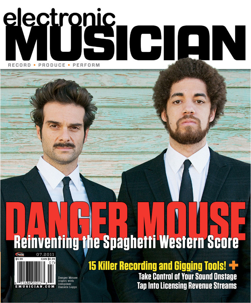 electronicMUSICIAN - July - 2011 Danger Mouse - NewBay Media Online Store