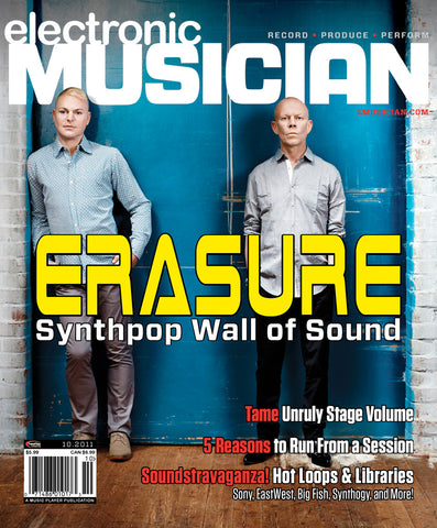 electronicMusician - Oct - 2011 Erasure