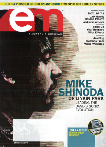 electronicMUSICIAN - Nov - 2010 Mike Shinoda - NewBay Media Online Store