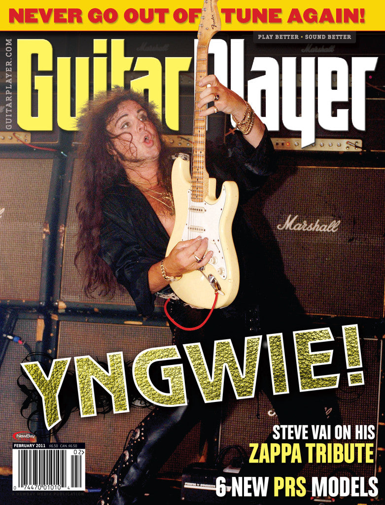 GuitarPlayer - Feb - 2011 Yngwie Malmsteen