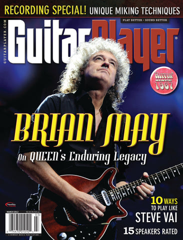 GuitarPlayer Mar - 2012  Brian May - NewBay Media Online Store
