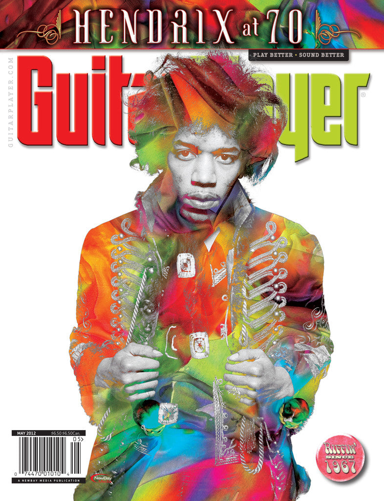GuitarPlayer -May 2012 Jimi Hendrix