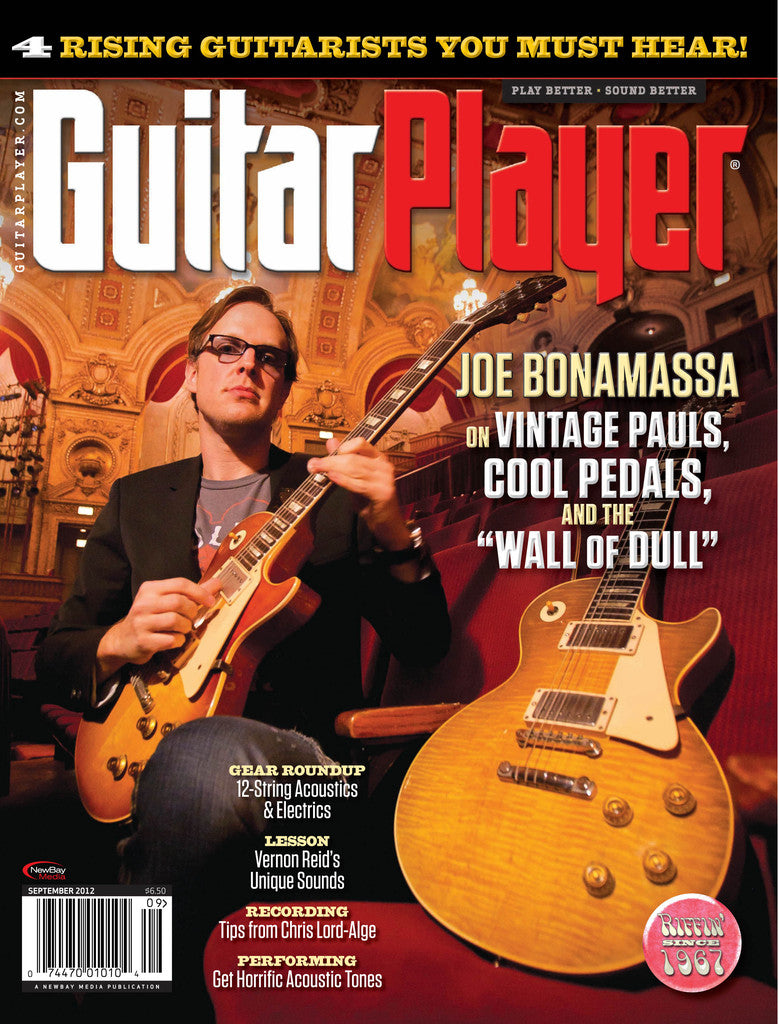 GuitarPlayer - September - 2012 Joe Bonamassa