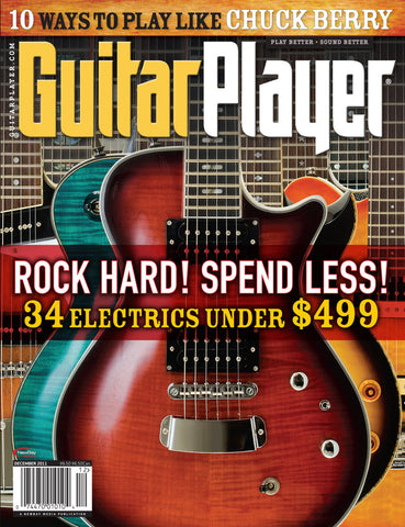 GuitarPlayer Dec- 2011 Budget Guitars Under $500!! - NewBay Media Online Store