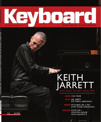 KeyBoard - Feb - 2012 Keith Jarrett - NewBay Media Online Store