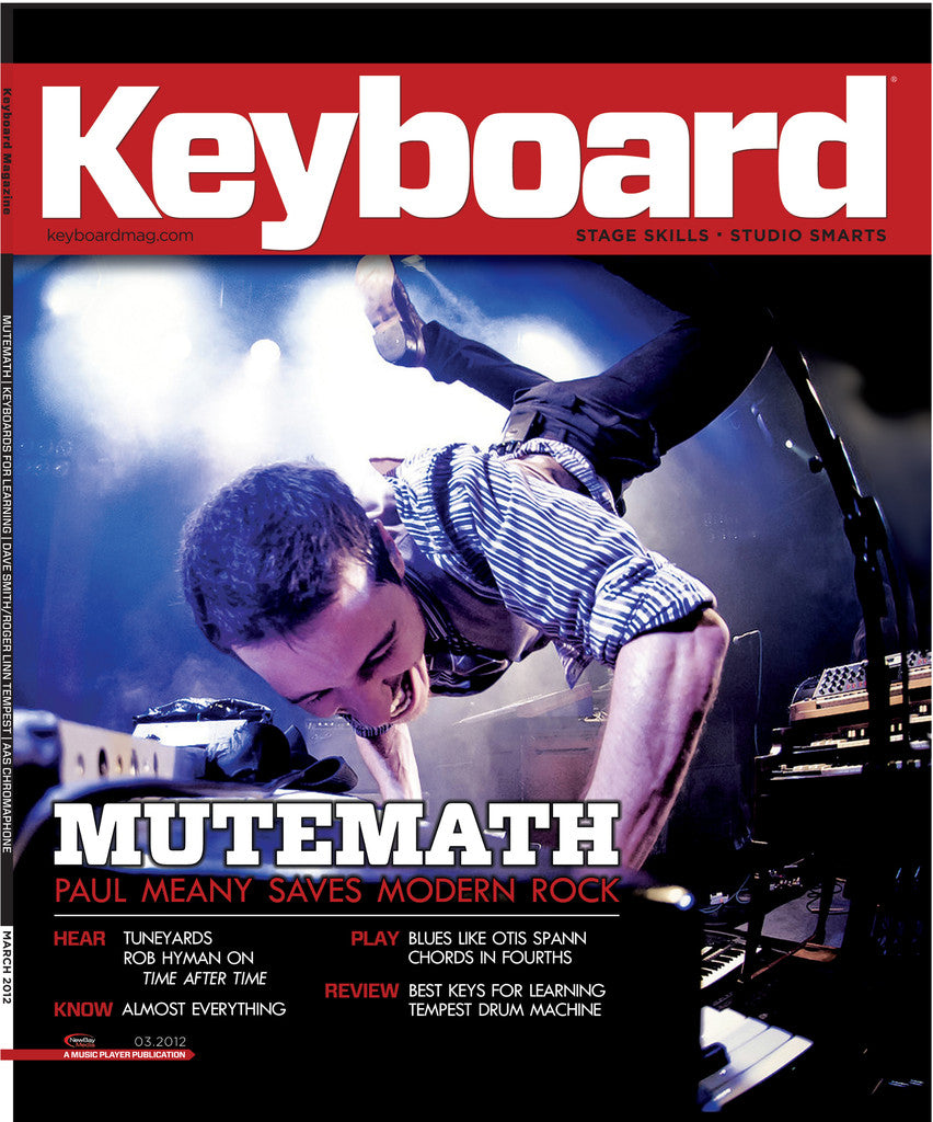 KeyBoard - March - 2012 Mutemath