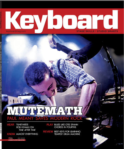 KeyBoard - March - 2012 Mutemath - NewBay Media Online Store