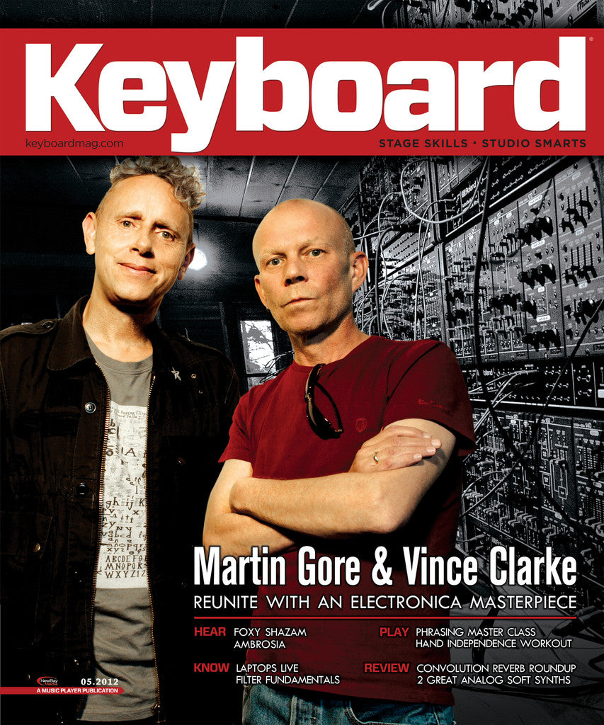 KeyBoard - May 2012 Martin Gore & Vince Clarke