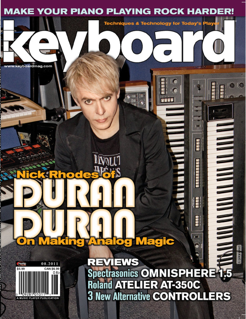 KeyBoard - August - 2011 Nick Rhodes
