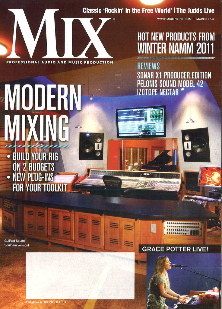 MIX - March - 2011 - Modern Mixing