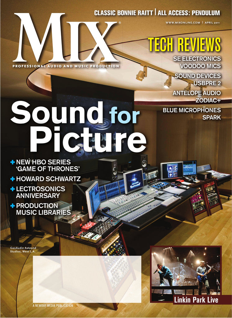 MIX - April - 2011 Sound for Picture