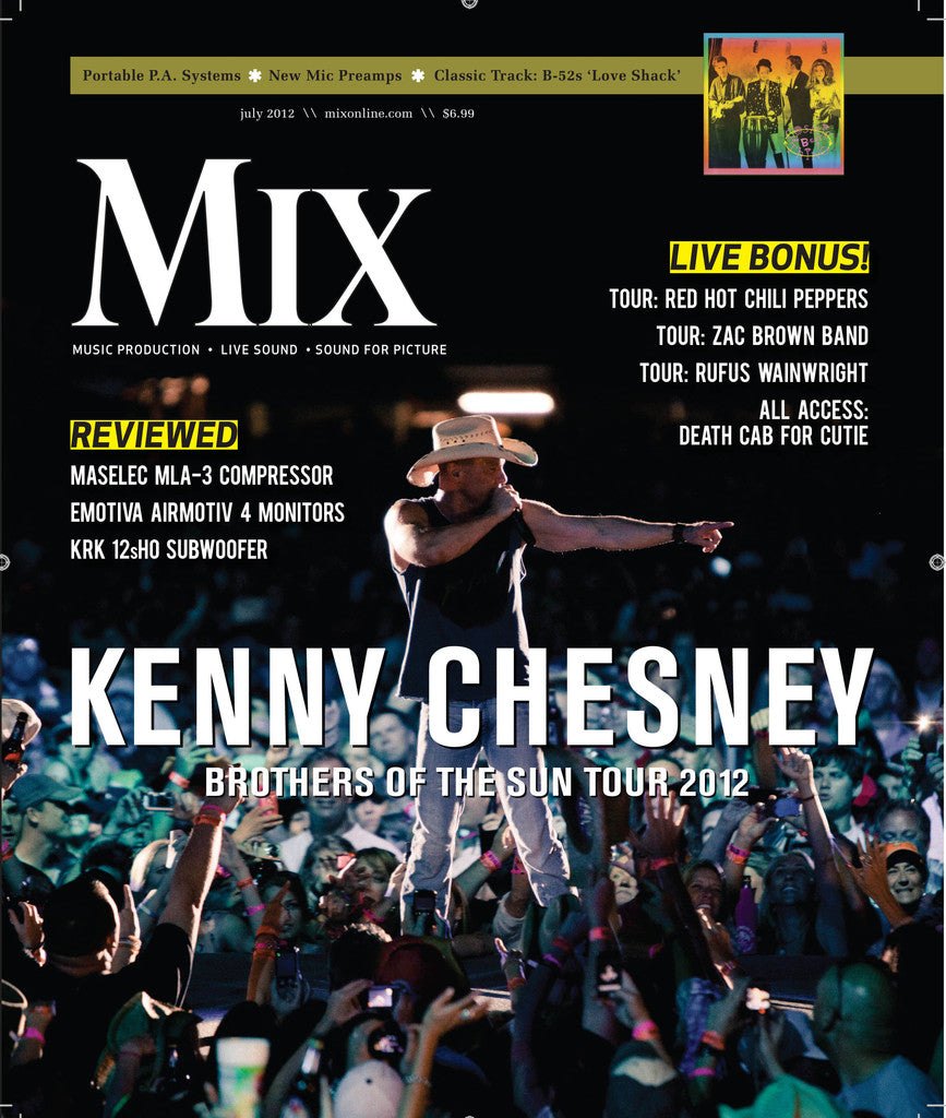 MIX - July - 2012 Kenny Chesney