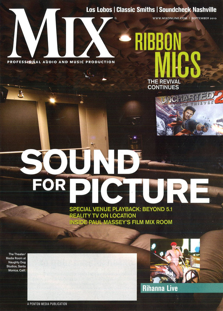 MIX- Sept - 2010 - Sound For Picture