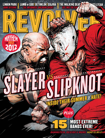 REVOLVER - July/August - 2012 MAYHEM FEST 2012