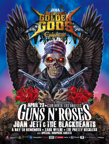 Revolver Golden Gods Collector's Poster