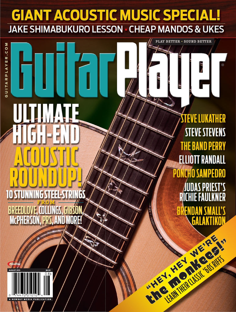Guitar Player - August 2013 - Acoustic Roundup