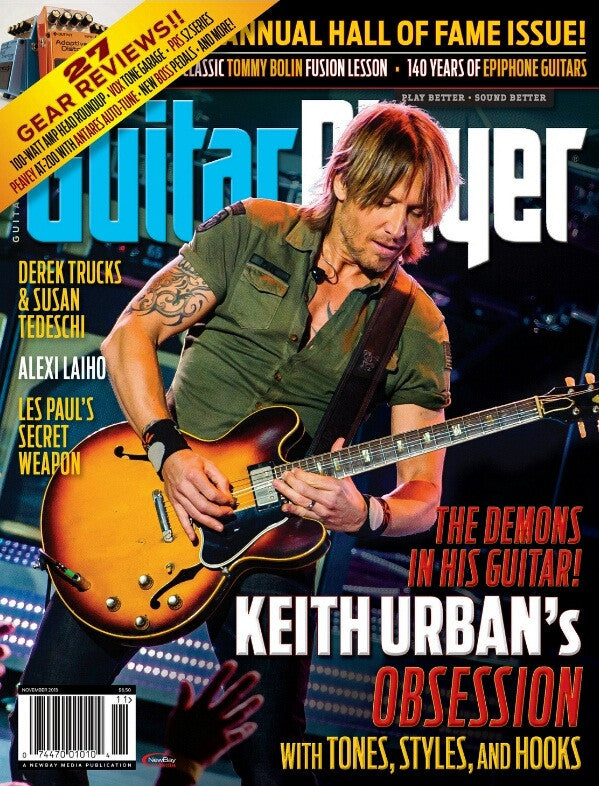 Guitar Player - November 2013 - Keith Urban