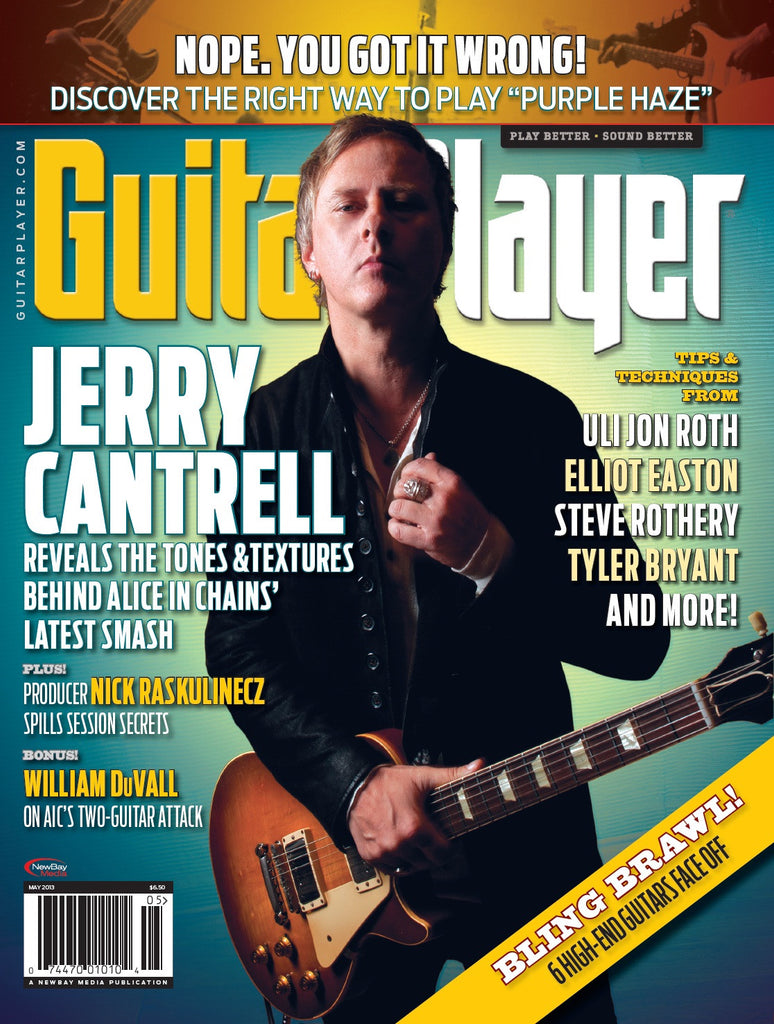 Guitar Player - May 2013 - Jerry Cantrell