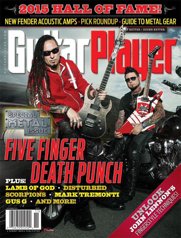 Copy of Guitar Player - November 2015 - Five Finger Death Punch - NewBay Media Online Store