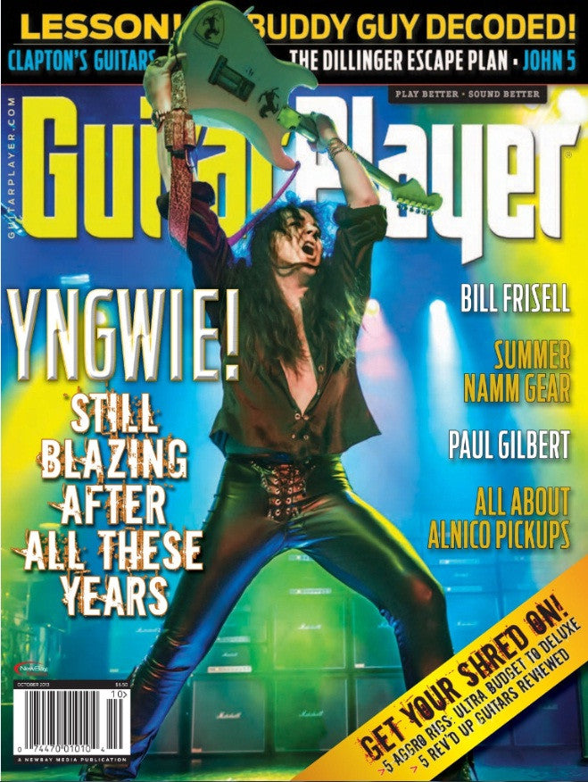 Guitar Player - October 2013 - Yngwie Malmsteen