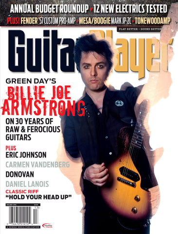 Guitar Player - Holiday 2016 - Billie Joe Armstrong - NewBay Media Online Store