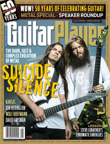Guitar Player - January 2017 - Suicide Silence
