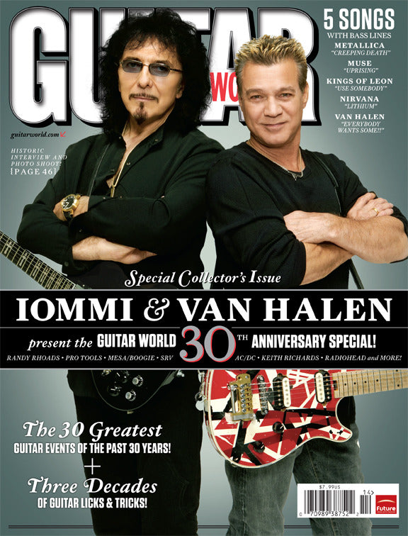 Guitar World - Ann-10 - Tony Iommi & Van Halen