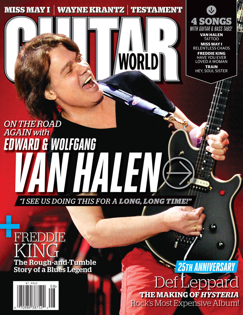 Guitar World - Aug - 12 Van Halen - NewBay Media Online Store