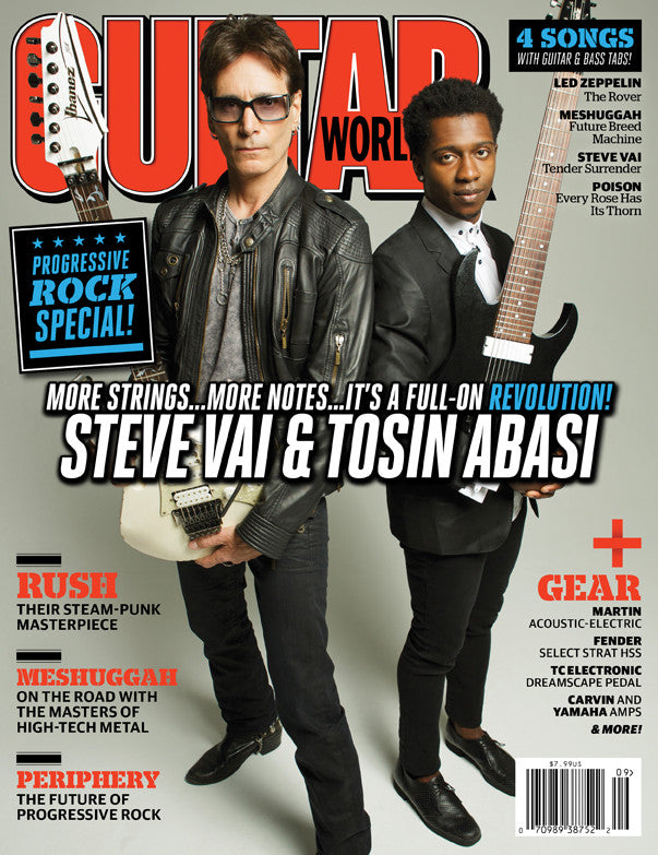 Guitar World - Sept - 12  Steve Vai & Tosin Abasi