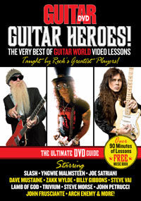 Guitar Heroes! The Very Best of Guitar World Video Lessons DVD