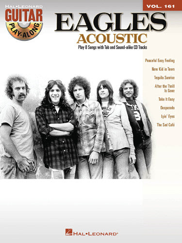The Eagles - Acoustic Guitar Play-Along Vol. 161