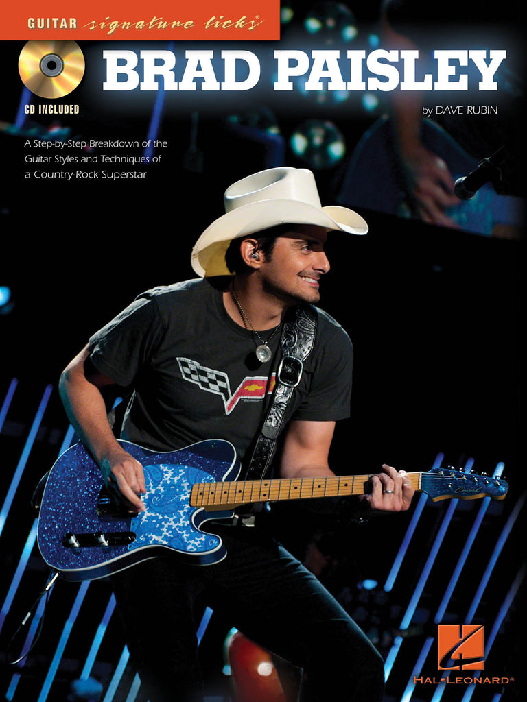 Brad Paisley a Step-By-Step Breakdown of the Guitar Styles and Techniques of a Country-Rock Superstar - NewBay Media Online Store