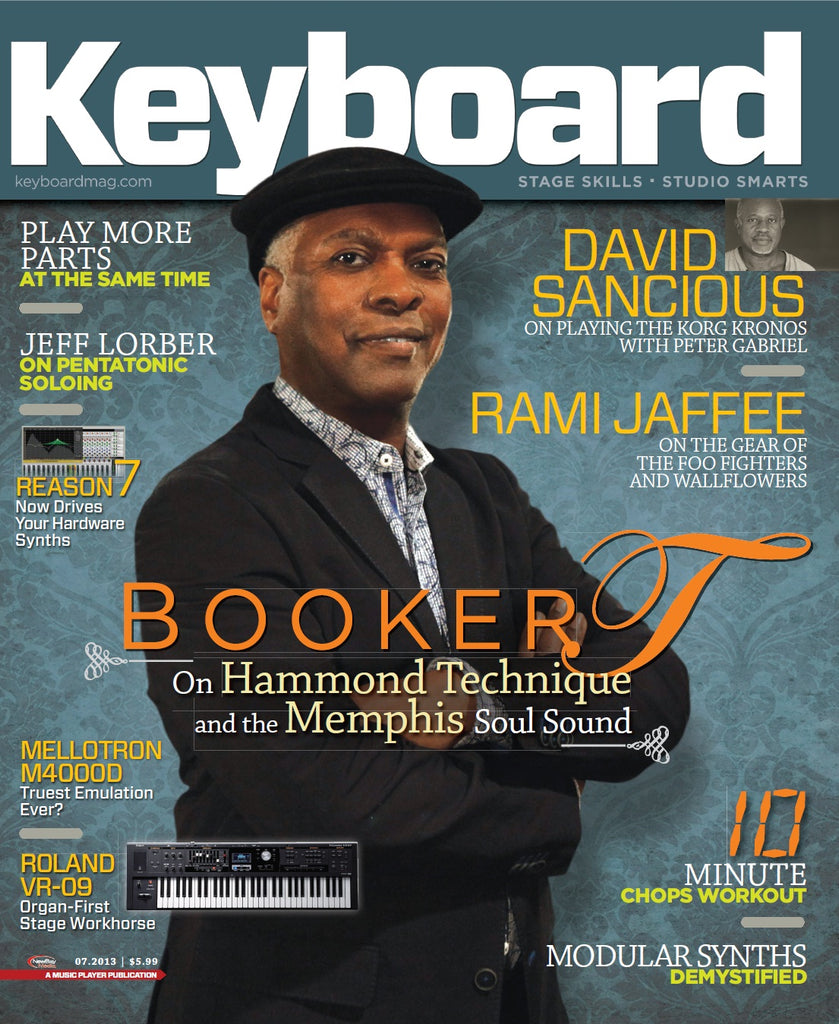 Keyboard - July 2013 - Booker T. Jones
