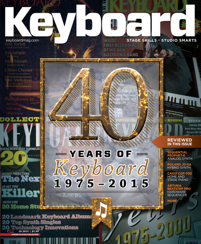 Keyboard - October 2015 - 40 years of Keyboard 1975 - 2015