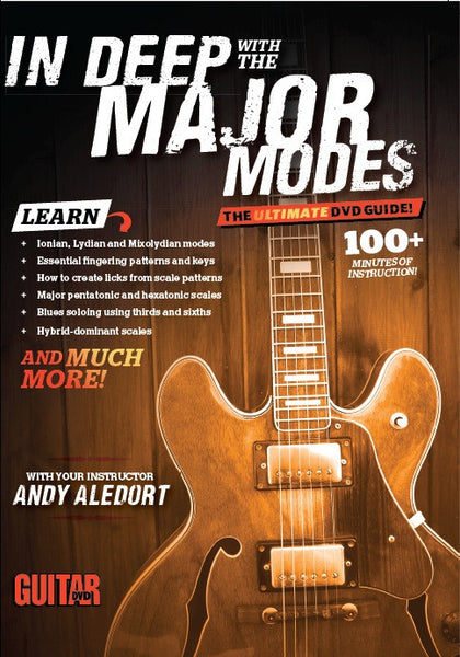 In Deep With the Major Modes - DVD