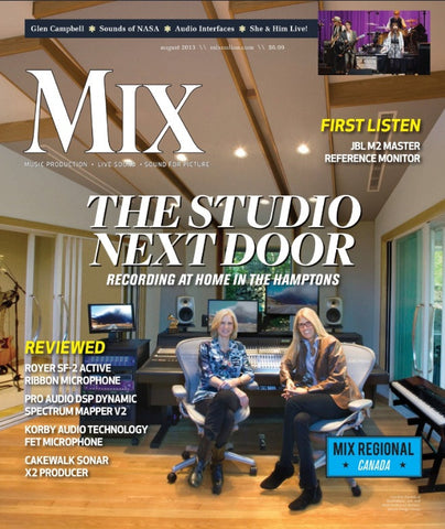 MIX - August 2013 - The Studio Next Door - NewBay Media Online Store