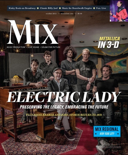 MIX - October 2013 - Electric Lady