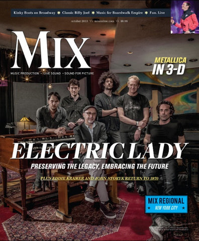 MIX - October 2013 - Electric Lady - NewBay Media Online Store