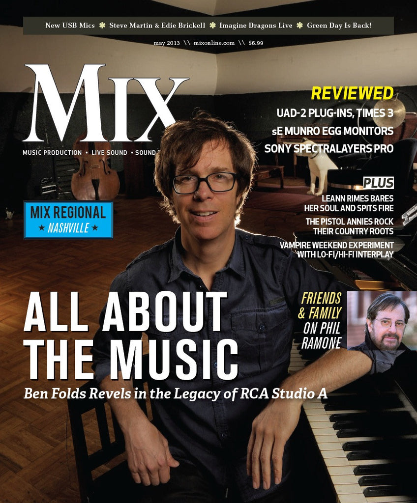 MIX - May 2013 - All About the Music